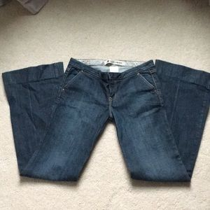 GAP  ultra low rise jeans. Size 4